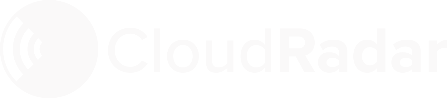 CloudRadar Home Page