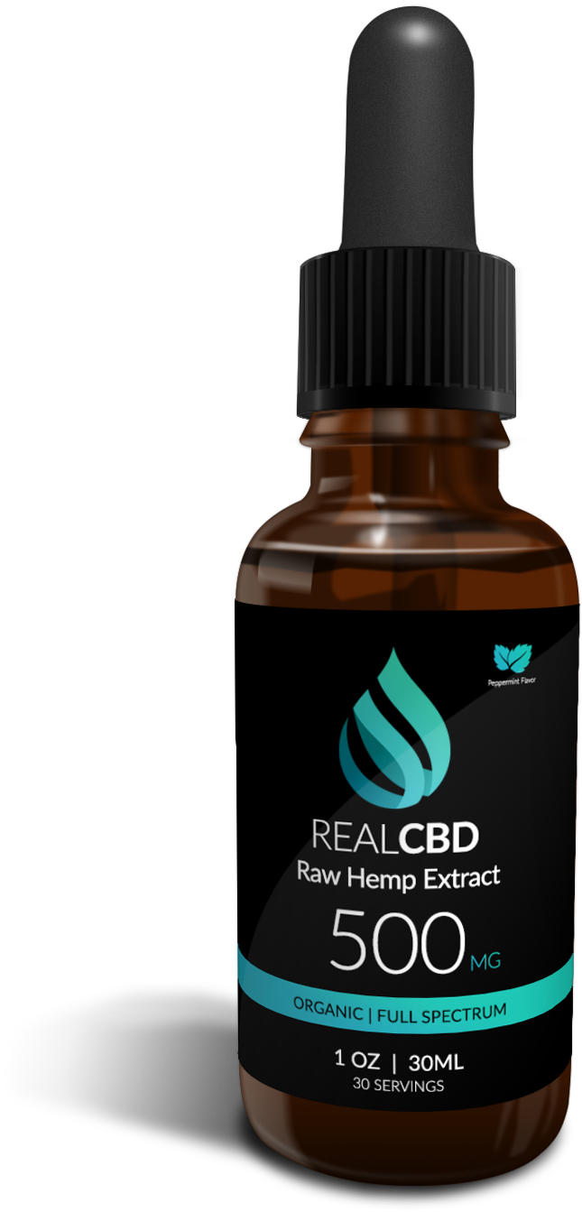 Organic Full Spectrum Raw Hemp Extract CBD Oil