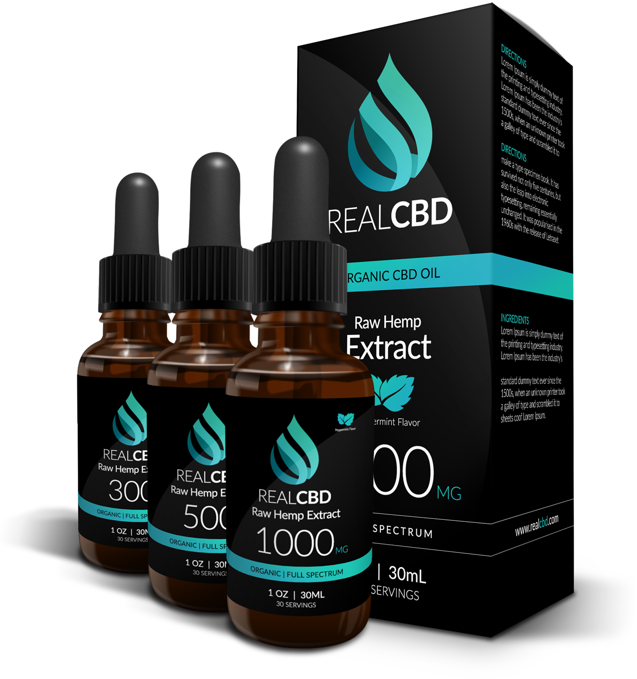 300mg - 1500mg CBD Oil for Sleep & Anxiety