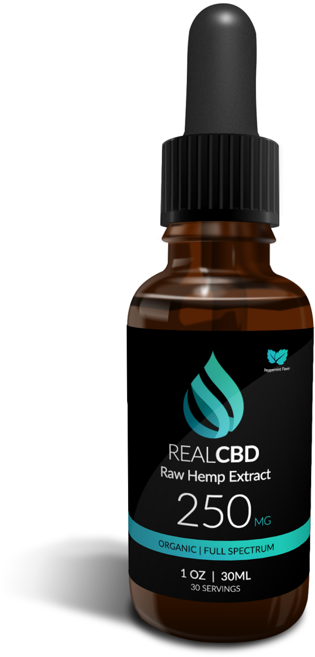 250mg raw hemp extract CBD oil pets
