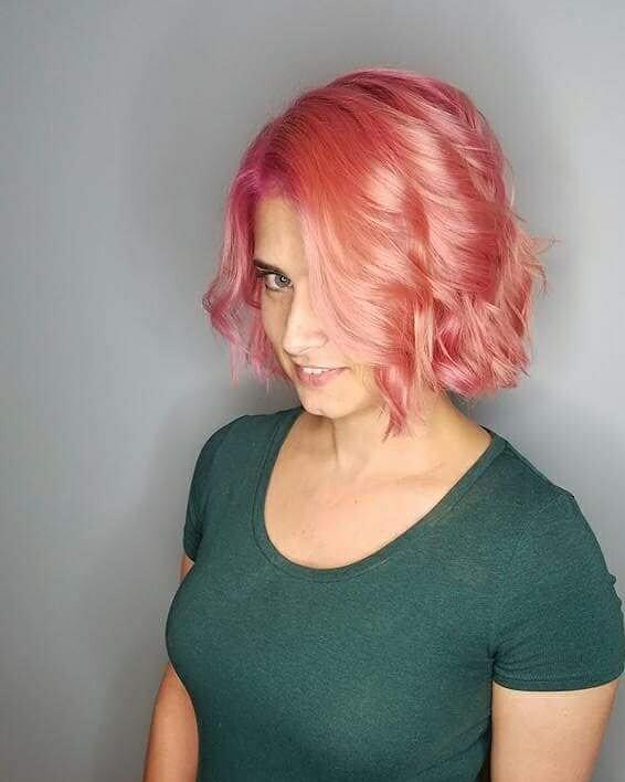 pink hair by metamorphosis