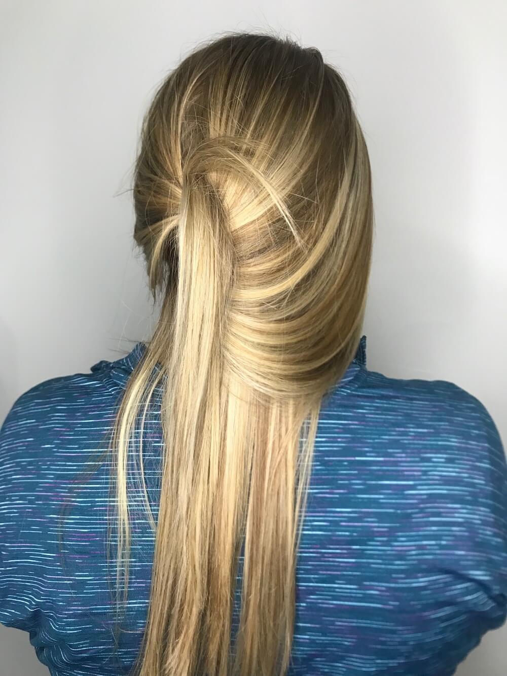 Blonde hair by metamorphosis