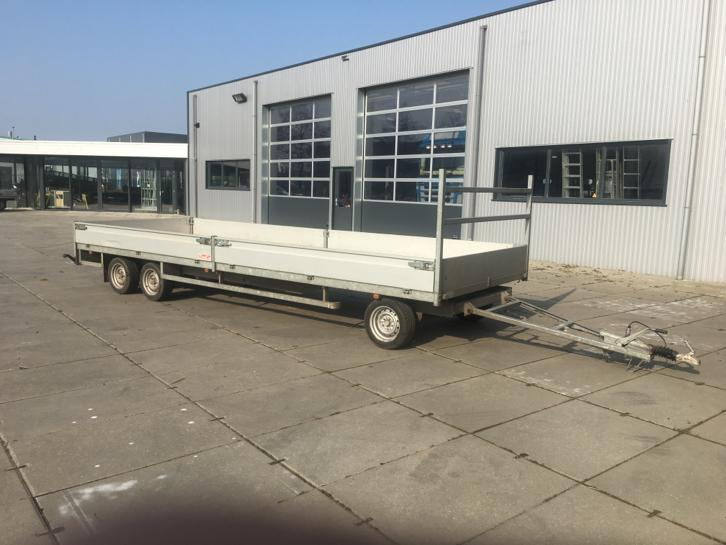 Aanhangwagen Schamel 600x200CM