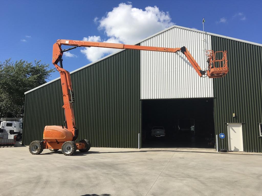 Knikarm hoogwerker 20m 4x4 diesel