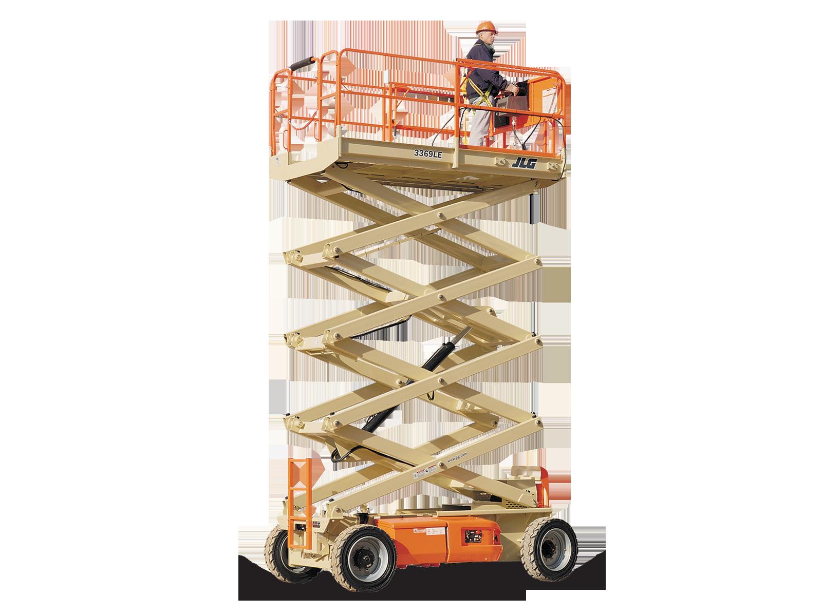 Schaarhoogwerker 12 meter accu.