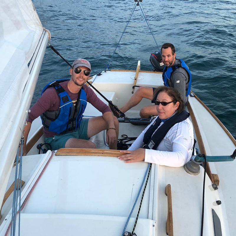 GPYC Sailing Students underway