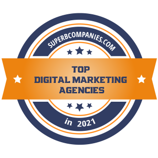 "SuperbCompanies.com ""Top digital marketing agencies in 2021"""