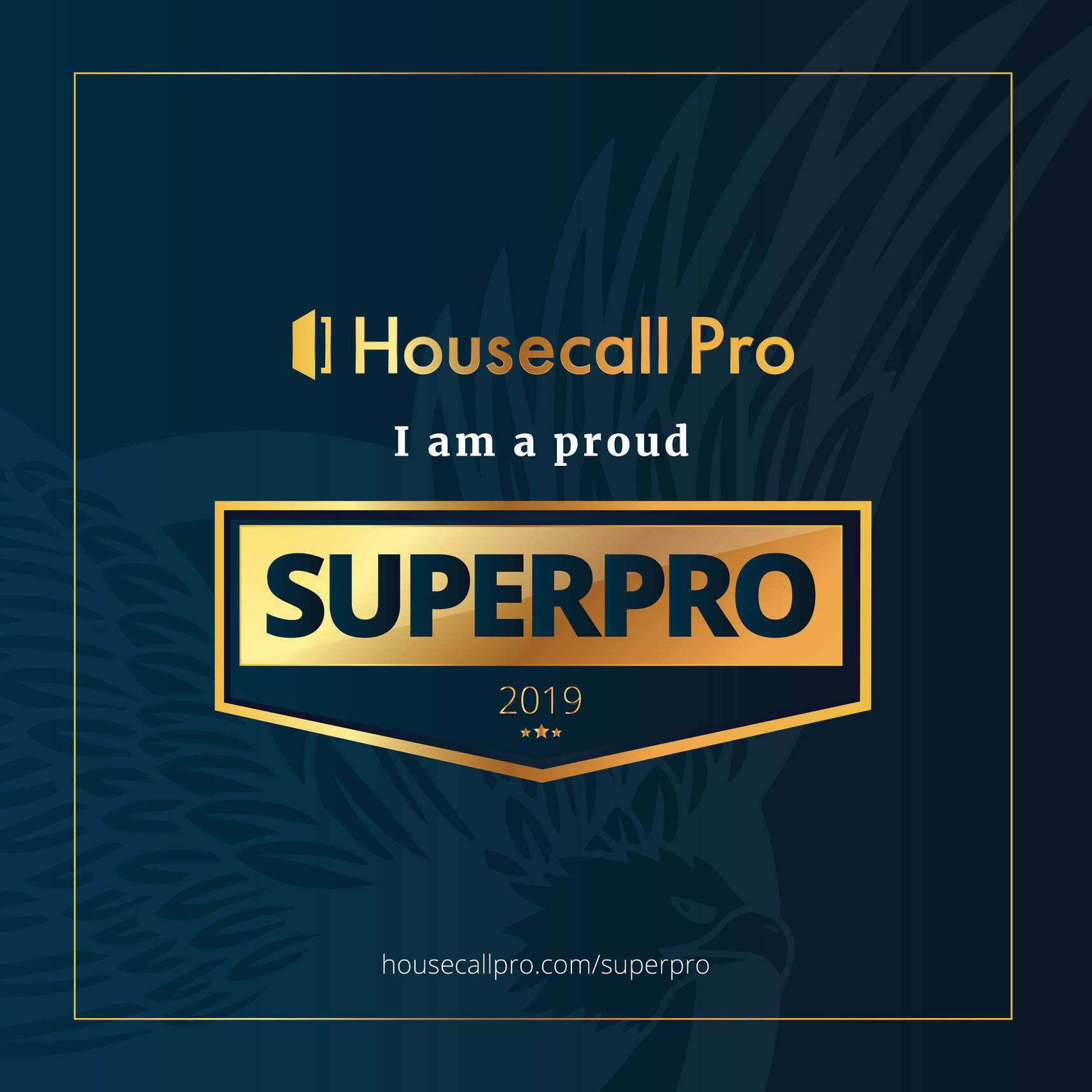 Go Squeaky Clean is a 2019 Housecall Pro Superpro
