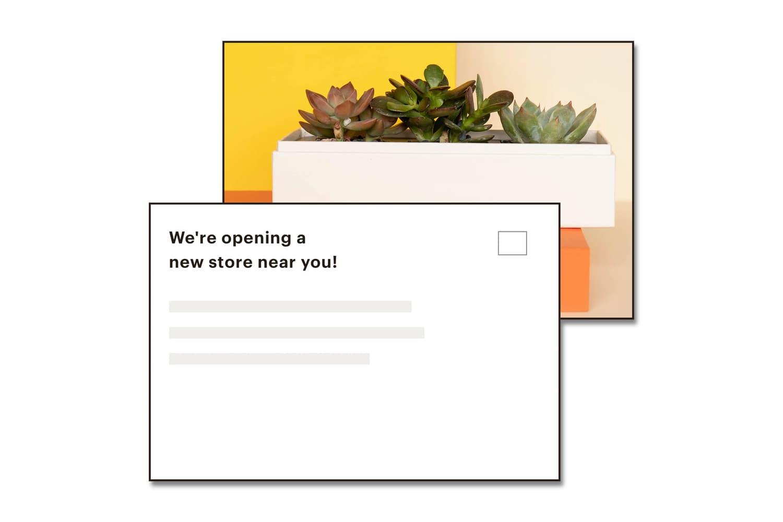 Mailchimp Postcards