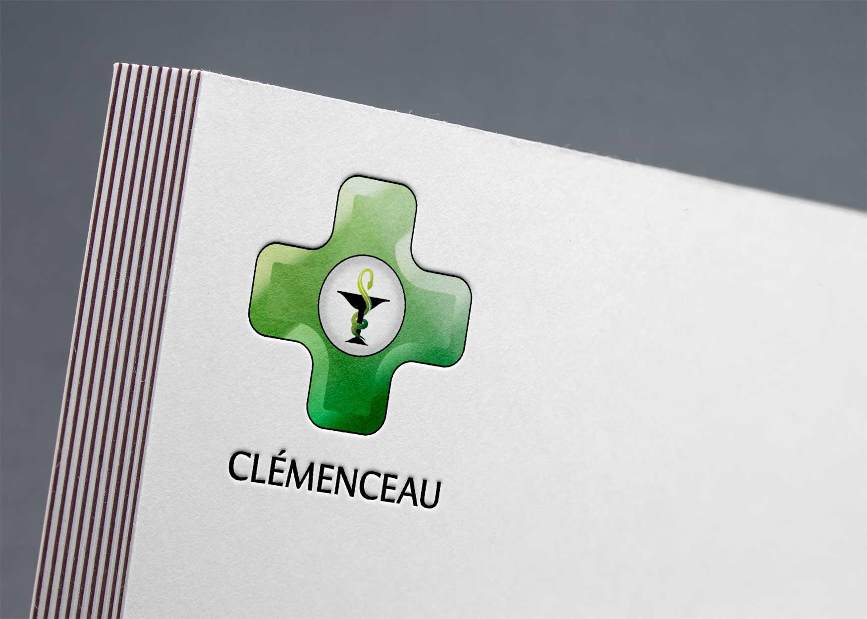 Pharmacie Clémenceau : Papier à lettre