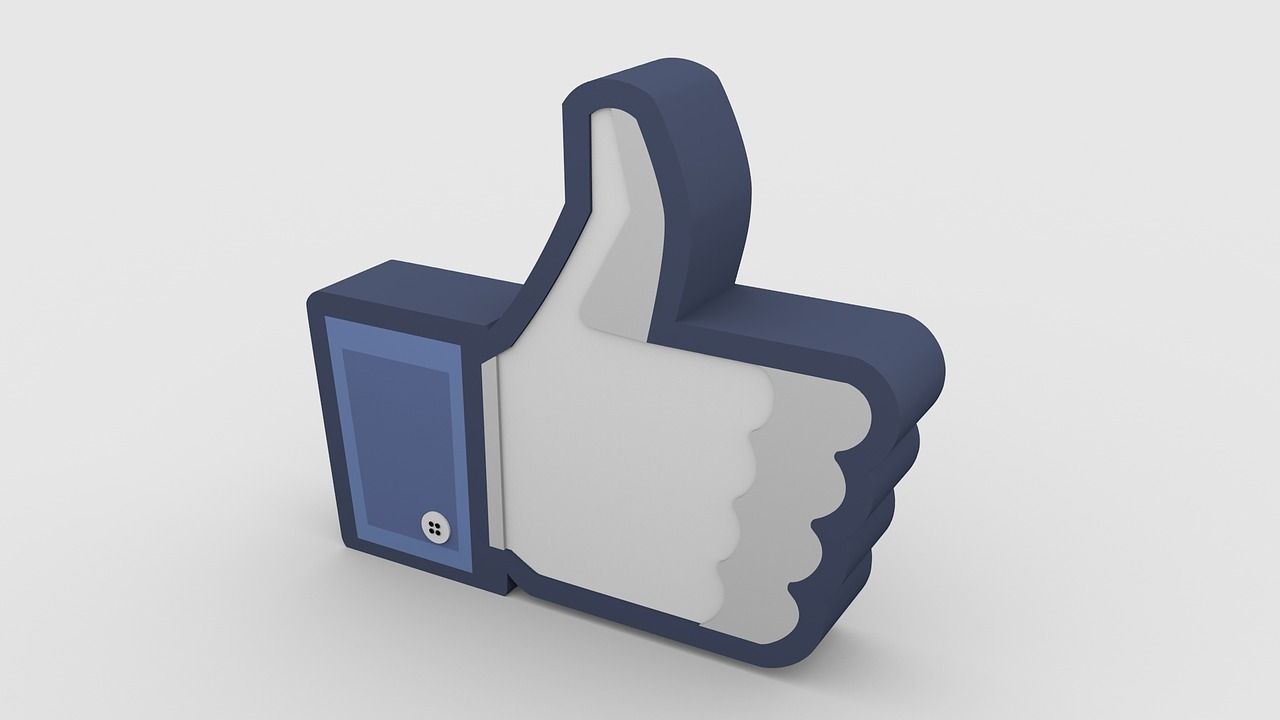 Image d'un like Facebook