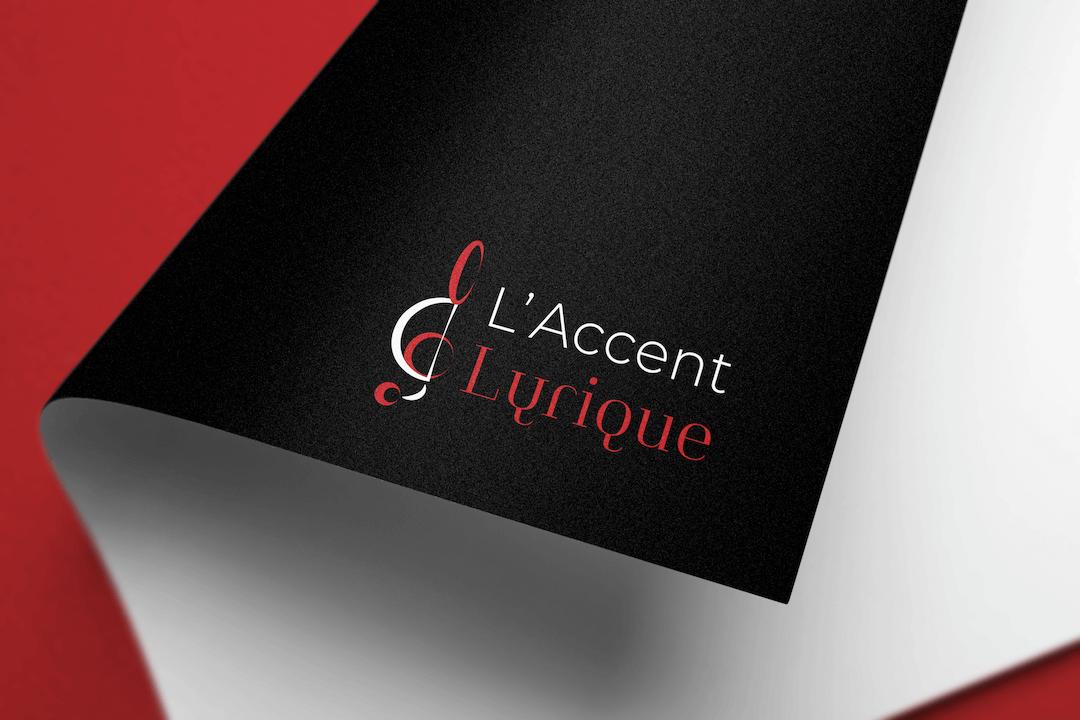 Création d'un logotype pour L'accent Lyrique