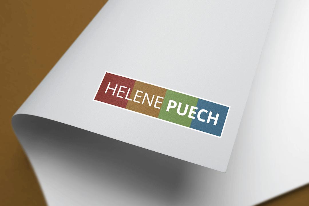 Création d'un logotype pour Hélène Puech - Stratégiste digitale
