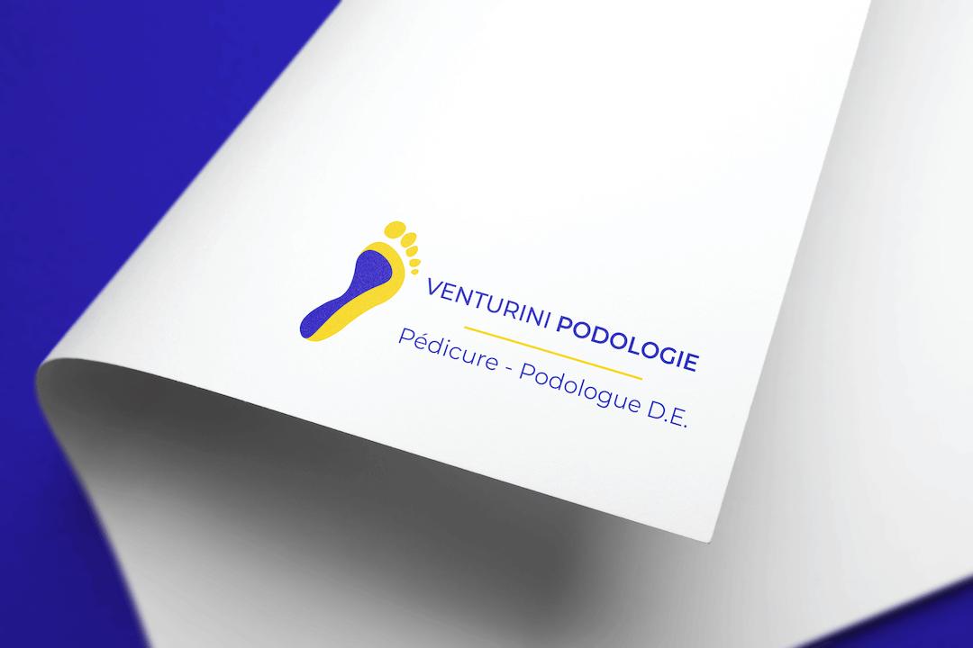 Création d'un logotype pour Venturini Podologie