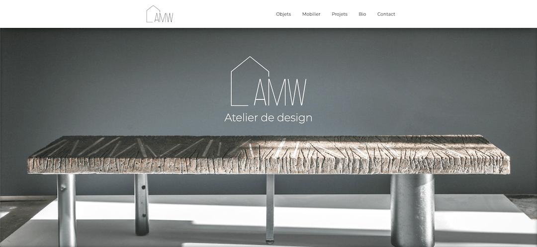 Image du site web amwdesign.fr