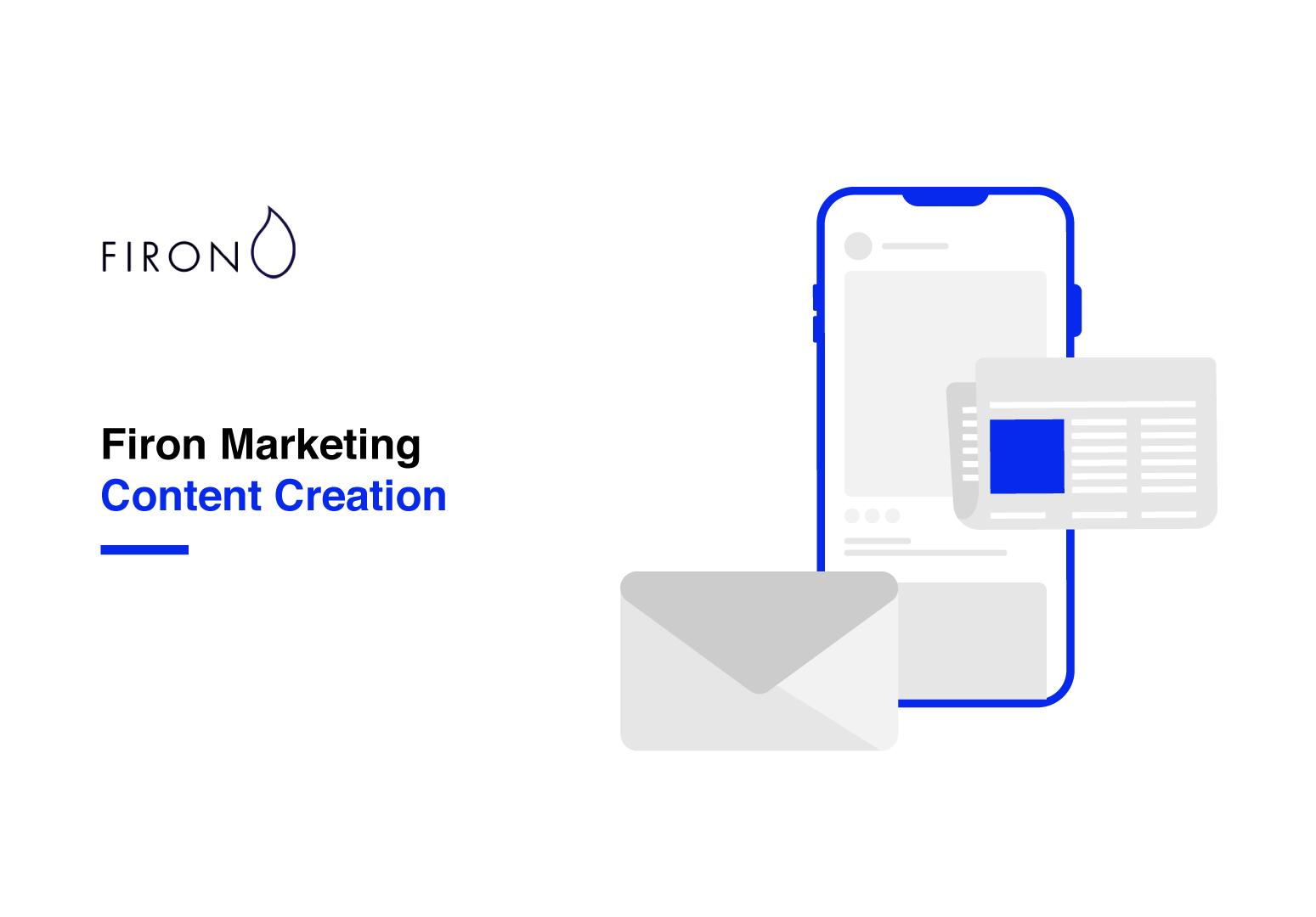 firon marketing content creation