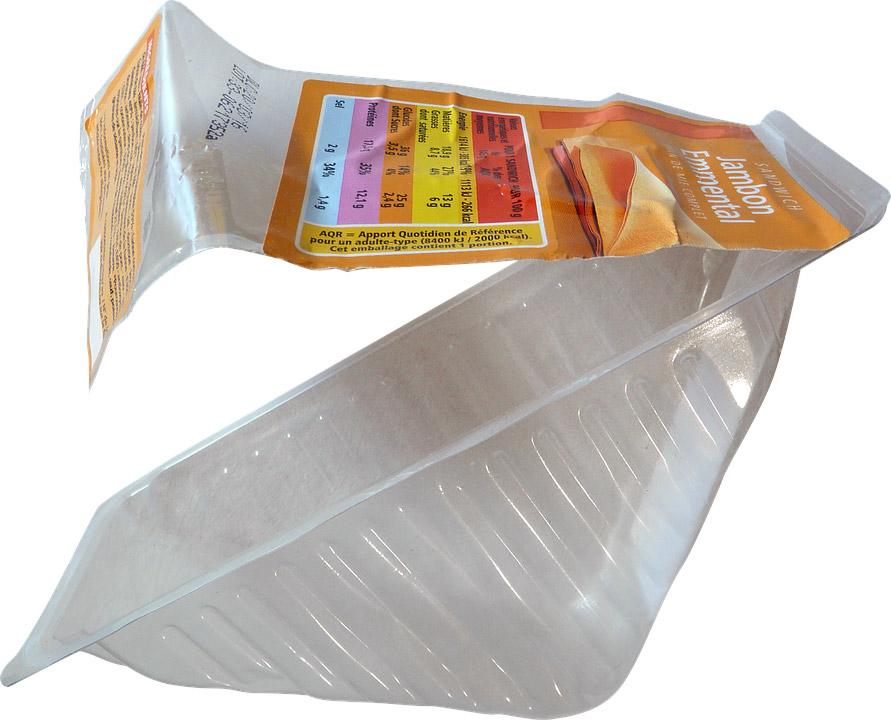 Sandwich packaging image