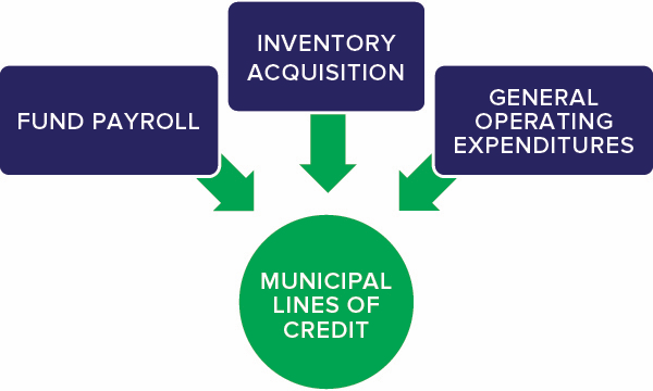 Municipal lines of credit