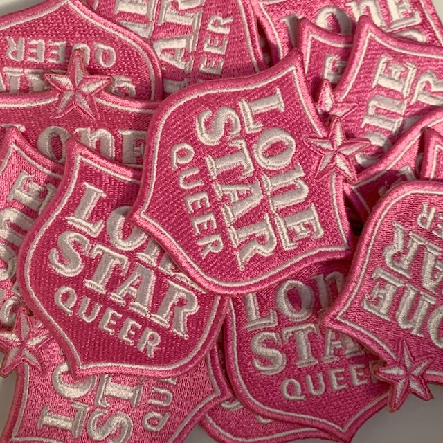 Lone Star Queer Patch Pink