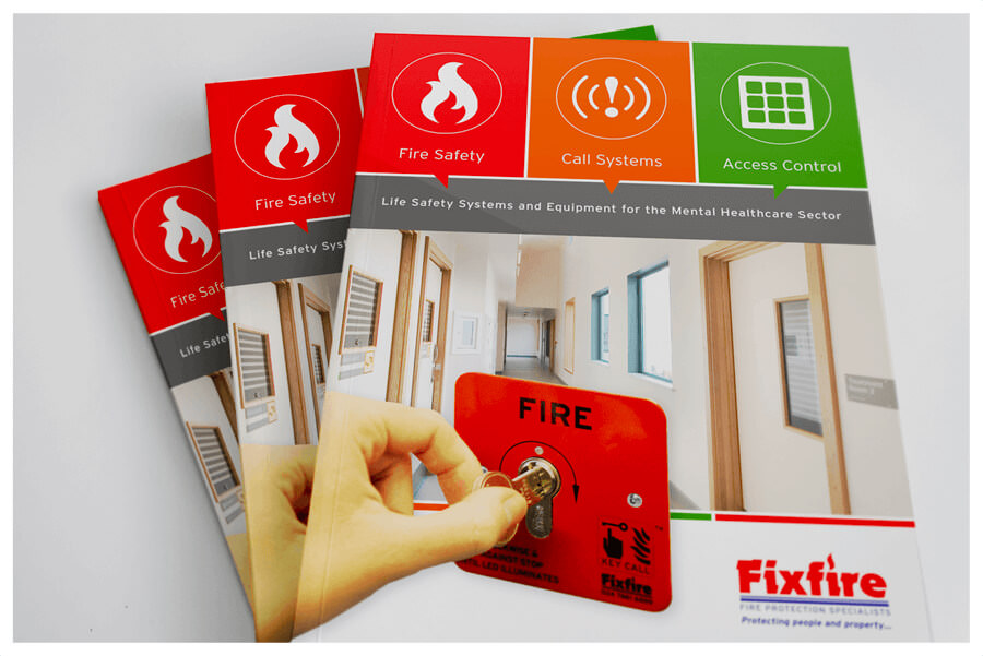 Photo of Fixfire range catalogue by Connect Creative Design in Barnsley