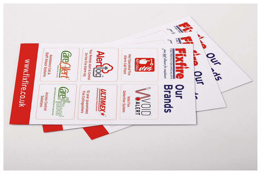 Photo of VoidAlert business cards, designed by Connect Creative Design
