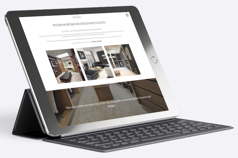 Website interior design Barnsley and South Yorkshire