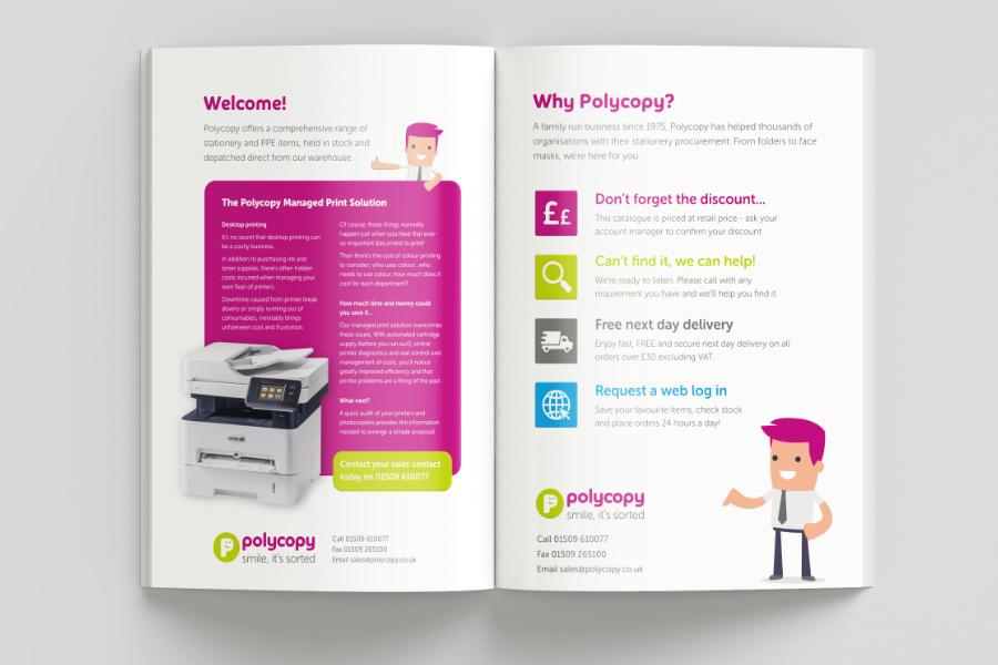 Brochure and catalogue design Barnsley