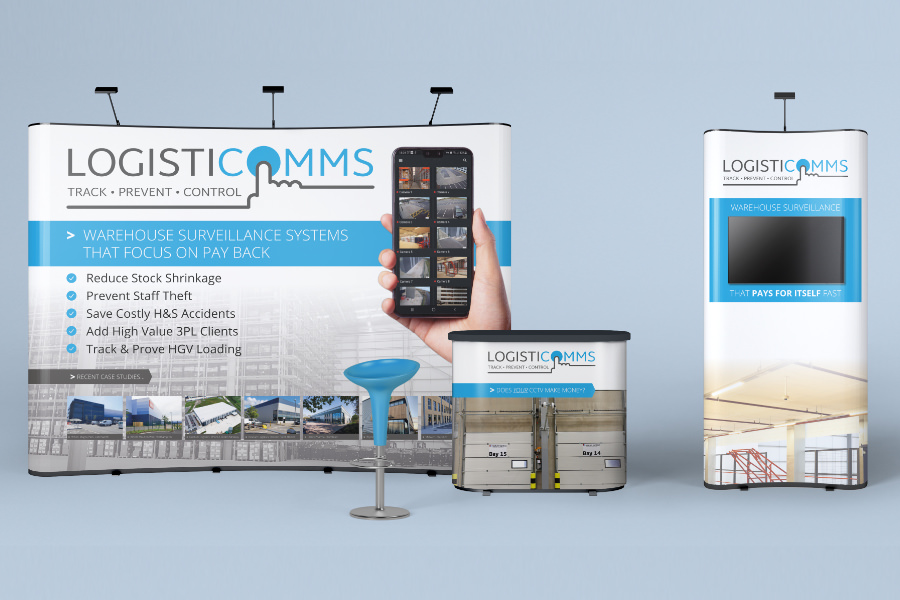 Exhibition stand design and printing South Yorkshire