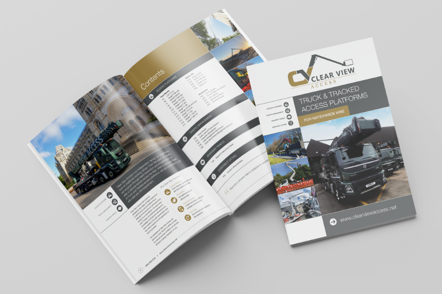 Brochure layout in south yorkshire