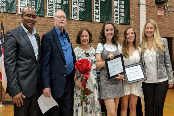 Clemmons Community Foundation Awards Scholarships at West Forsyth High School
