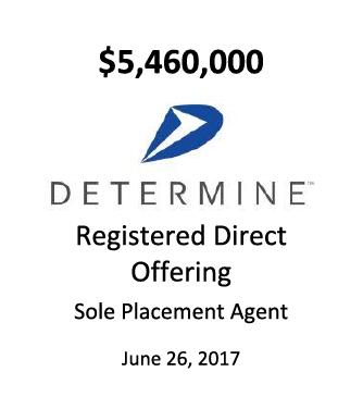 Determine, Inc.