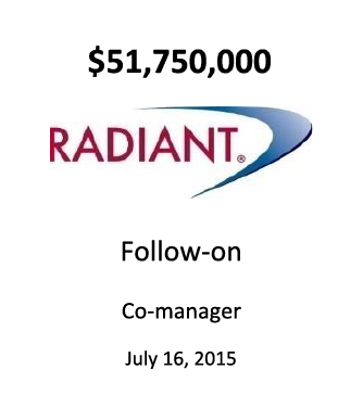 Radiant Logistics, Inc.