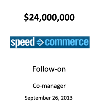 Speed Commerce, Inc.