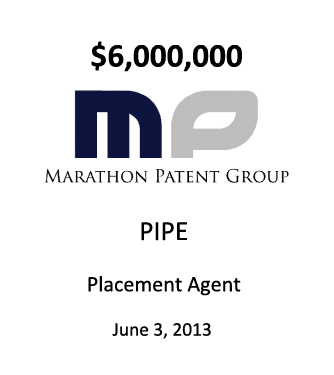Marathon Patent Group, Inc.