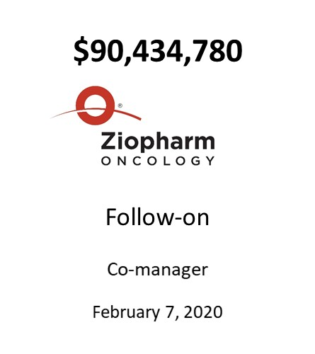 Ziopharm Oncology, Inc.