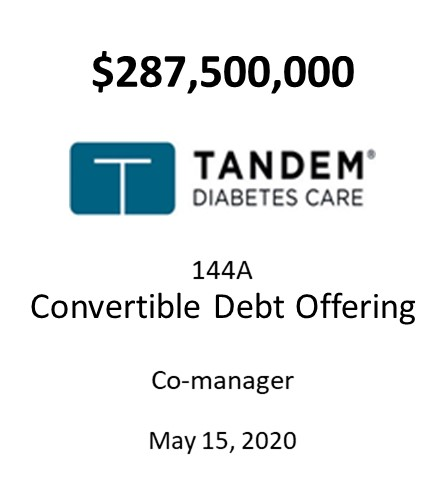 Tandem Diabetes Care, Inc.
