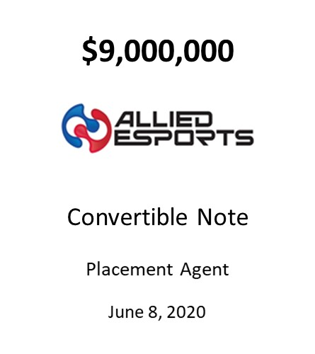 Allied Esports Entertainment Inc.