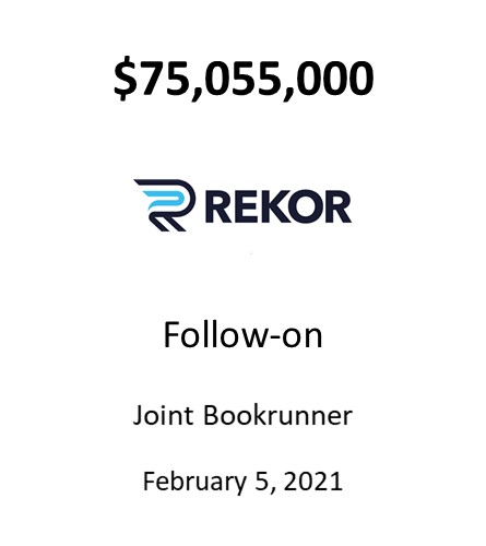 Rekor Systems, Inc.