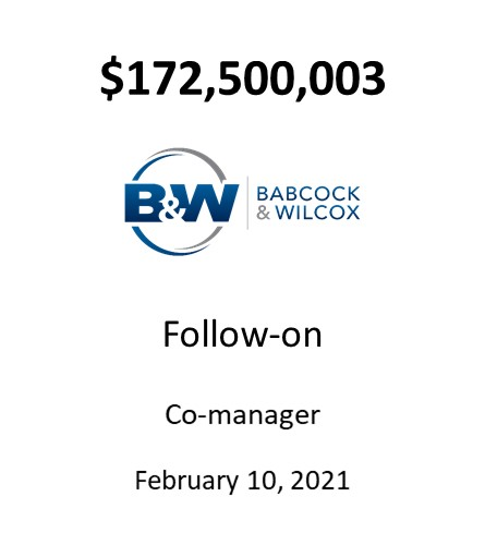 Babcock & Wilcox Enterprises, Inc.