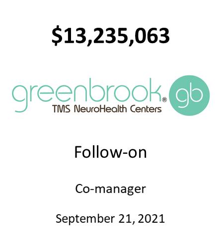 Greenbrook TMS, Inc.