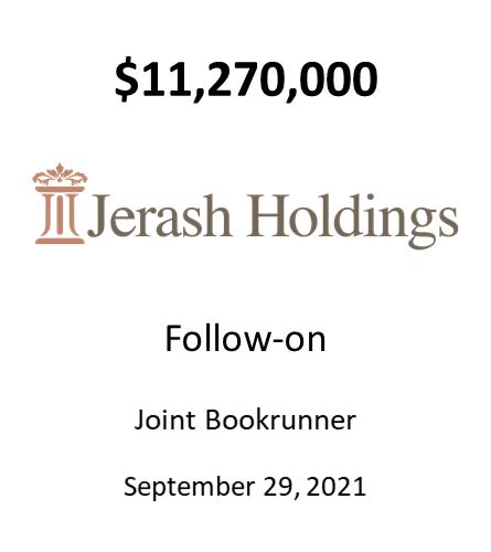 Jerash Holdings (US), Inc.