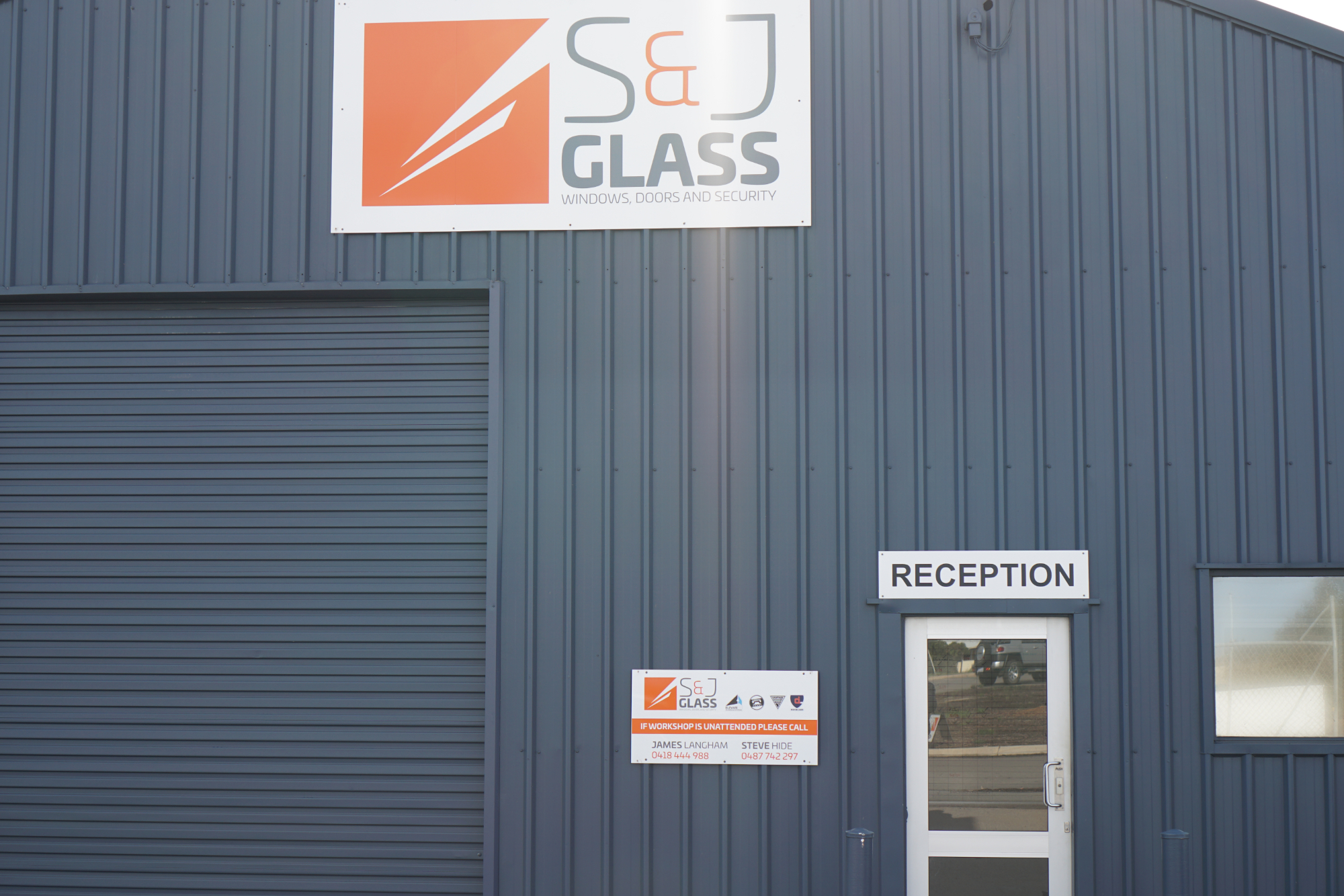 S & J Glass Office Geraldton