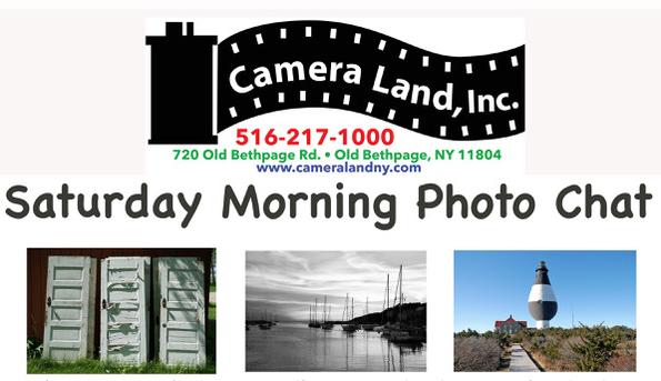 Saturday Morning Photo Chat - Saturdays