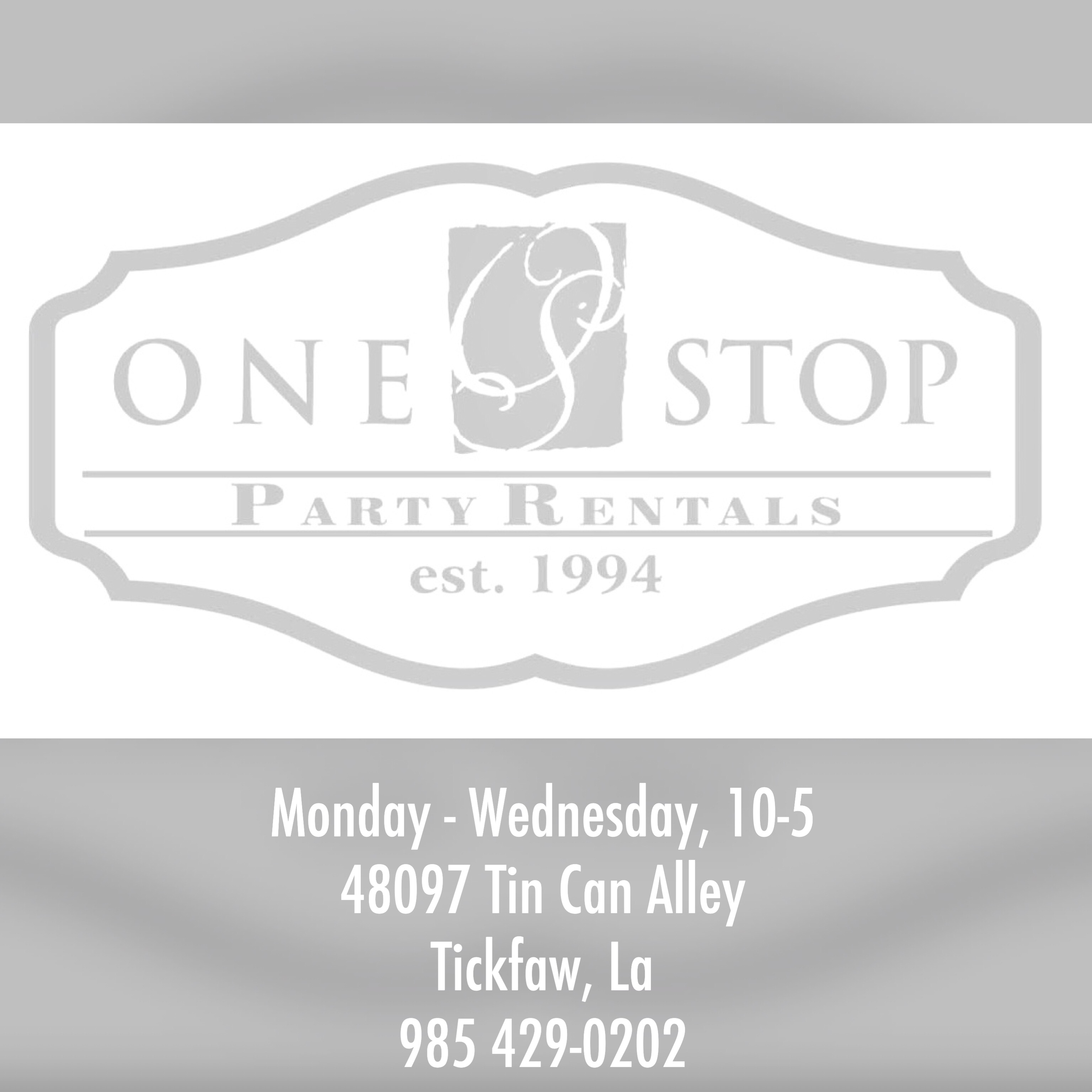 One Stop Party Rental