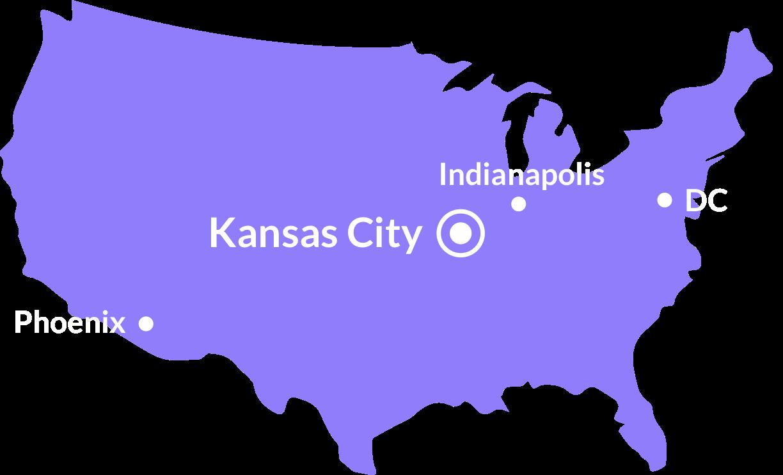Crema Locations Map