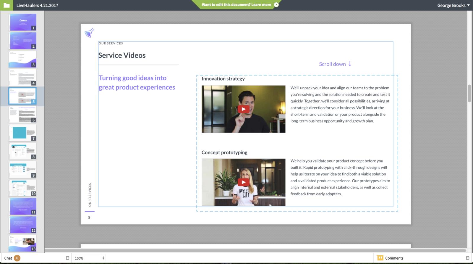Lucid Press PDF design tool