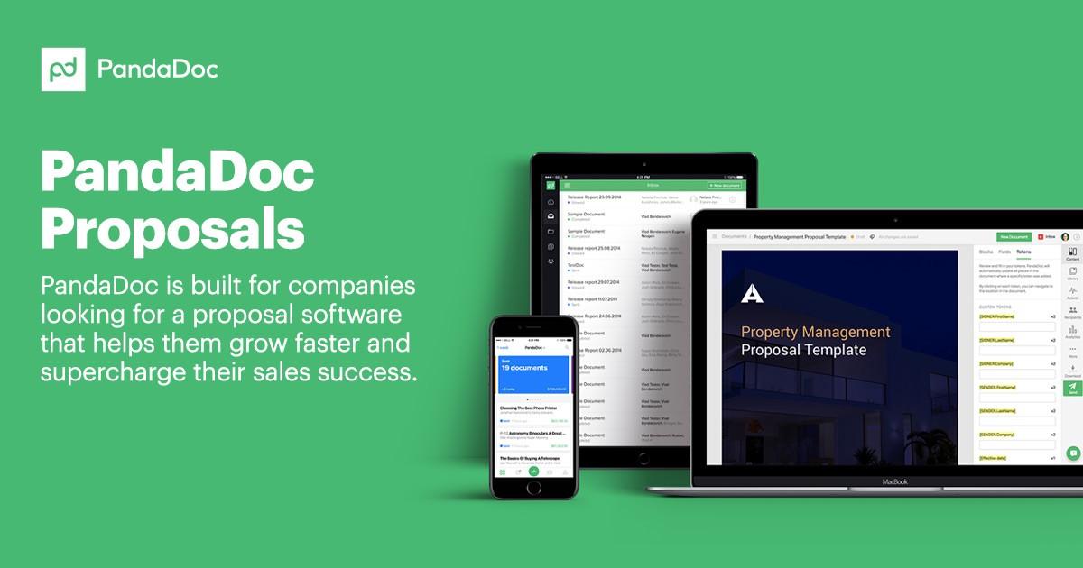 PandaDoc Proposals tool