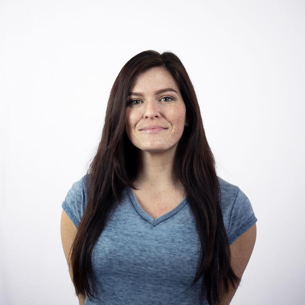 Larissa smiling