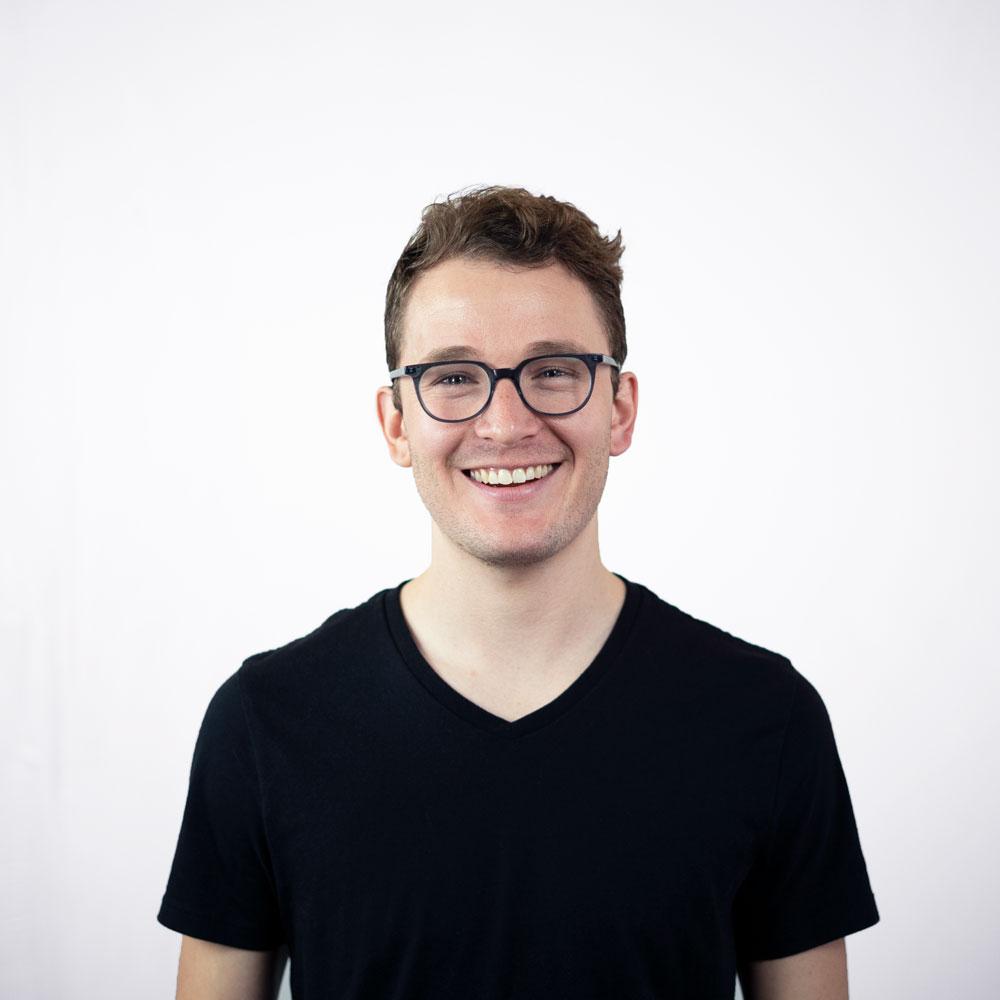 Sean smiling