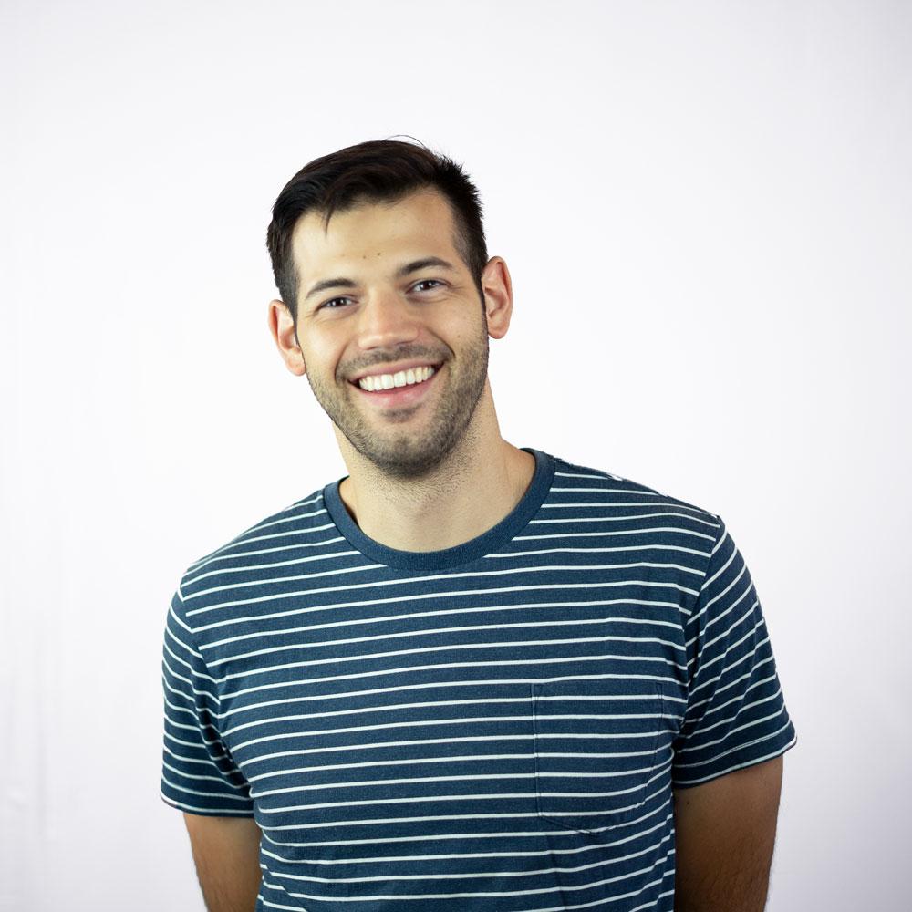 Nate smiling
